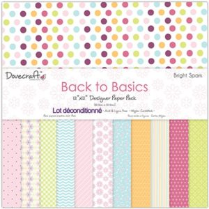Dovecraft Back to Basics – Bright Spark 12 feuilles