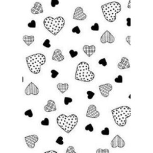 Personal Impressions Embossing Sheet – Hearts