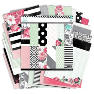 Heidi Swapp – Collection HELLO BEAUTIFUL – 24 feuilles