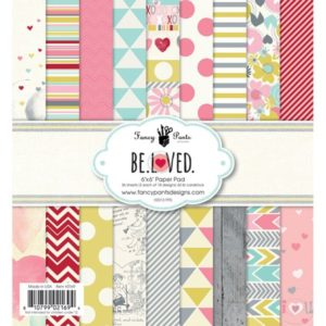 """Fancy Pants Design – Paper Pad Coll. """"Be.Loved"""""""